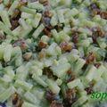 Concombre à la menthe et aux dattes