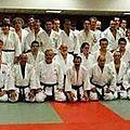 Entrainement départemental de judo à l'ES <b>Beffroi</b> Tours Nord