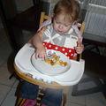 Bavoir cuisine+pois