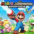 Le jeu Mario + The <b>Lapin</b> <b>Crétins</b>: Kingdom Battle est à découvrir sur la Switch