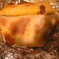 Souflé de blida ( sandwich algérien )