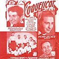 39/45 - Le coquelicot, Mouloudji / Gentil Coquelicot, Lucienne Vernay & les 4 <b>Barbus</b> / Where the wild roses grow, Cave & Minogue