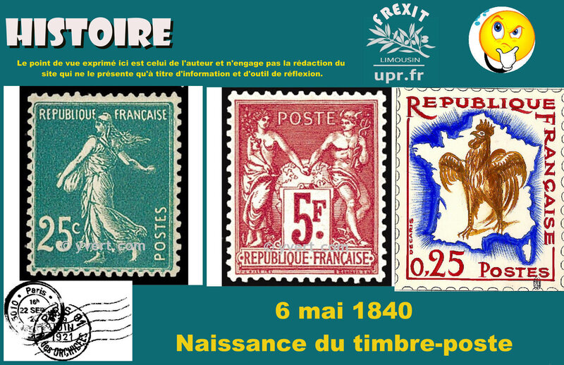 HIST TIMBRE POSTE