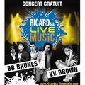 <b>VV</b> <b>Brown</b> et BB Brunes en concert gratuit à 20h30 à la Victoire CE SOIR 8 juin à Bordeaux