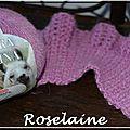 Roselaine206 Adriafil neckwarmer chauffe-cou