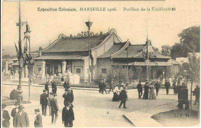 09. Exposition Coloniale Marseille 1906 pavillon de la Cochinch