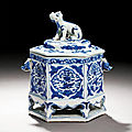 A blue and white censer, mark and period of wanli (1573-1620)