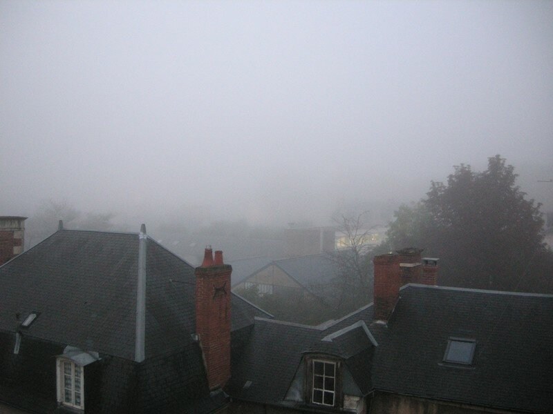 BOURGES Brume matinale