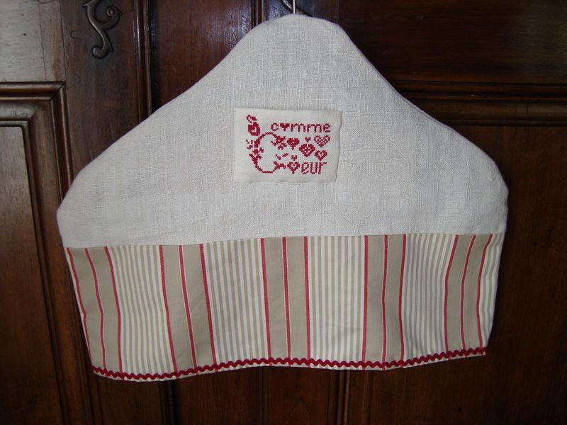 porte manteau rouge