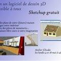 S'approprier le logiciel sketchup (dessin en 3d)