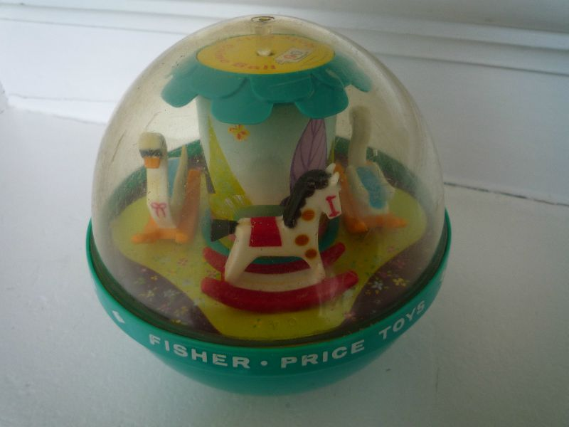 Roly Poly Chime Ball Fisher Price-1972 (2)