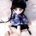 Blue belle geisha