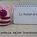 Ronchonchon_poésie
