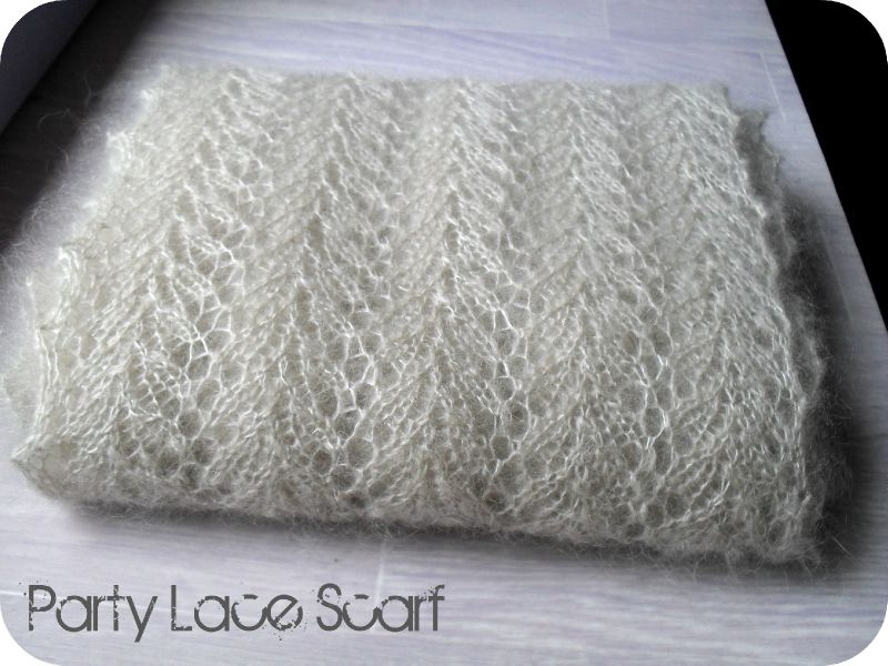 party lace scarf