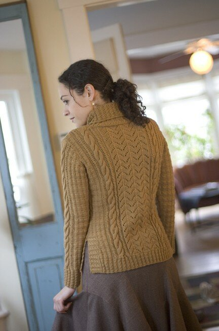 Week end pullover, Interweave Knits