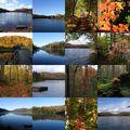 Couleurs d'automne dans les laurentides