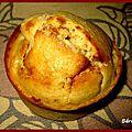 Muffin abricot amande