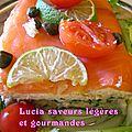 Terrine aux deux poissons: saumon - cabillaud et à la blette