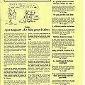 Les premiers journaux Gr@in-de-sel 2002/2003