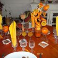 Défi de table ORANGE et EPICES 003