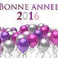<b>Bonne</b> <b>année</b> <b>2016</b>