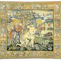 Deux tapisseries Audenarde & une tappisserie, Bruges, <b>XVIe</b> -<b>XVIIe</b> <b>siècle</b>