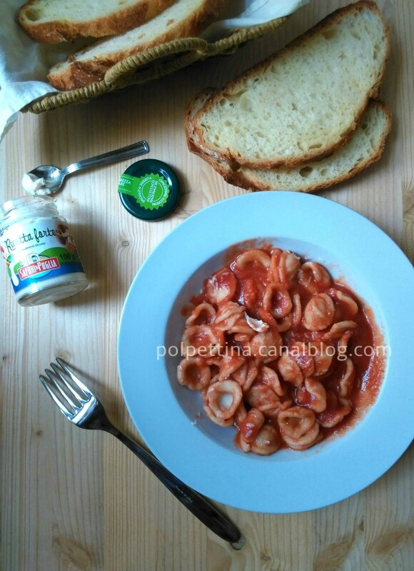 orecchiette la sauce tomate l 39 italie dans ma cuisine. Black Bedroom Furniture Sets. Home Design Ideas