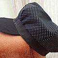 Modèle de casquette réversible