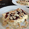 Dessert glacé au café meringué