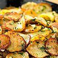 Pommes de terre type sarladaise (à ma façon)