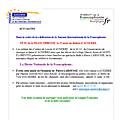 Célébrons la journée internationale de la francophonie