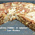 Menu d'automne et gâteau moelleux aux poires et amandes