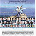 Humanisme et Participation Gex 2014. Notre professon de foi et du coup notre nouvelle photo.......