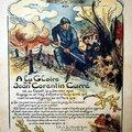 Les enfants soldat : Jean-Corentin Carré, Yves Méval, Alfred Abbruzzère, Magda Leroy, Paul Mathieu, Gustave Chatain