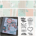 Album follow your dream - atelier offert - etape 3 - collection follow your dreams - sylvie leblanc