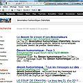 Les mystères du référencement : avec quels mots dans un moteur de recherche apparaît le blog de sophya ?