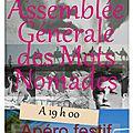 Prochainement : assemblée générale des mots nomades