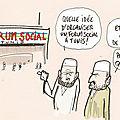 Forum social mondial à tunis