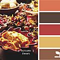 la <b>palette</b> des <b>couleurs</b> de TINOU...