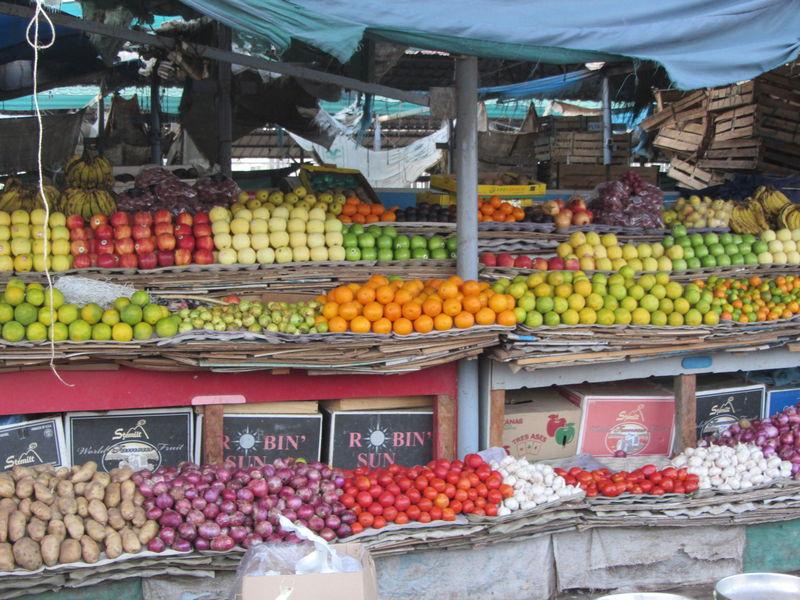Les légumes du marchés Ryad