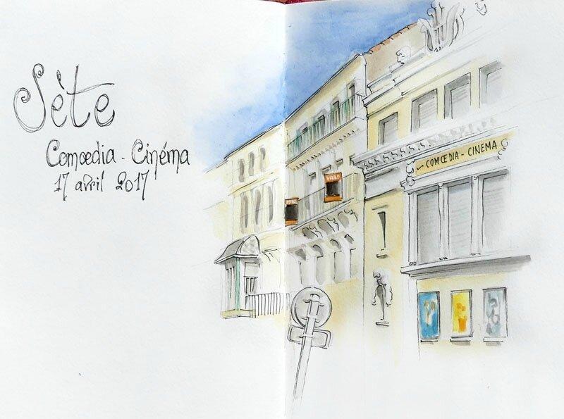 Sète, Coemedia-Cinéma