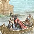1203 De Falaise à Rouen, Le duc Arthur Ier de Bretagne assassiné par Jean sans Terre.