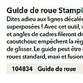 p126 guide roue