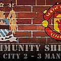 <b>Community</b> <b>Shield</b> : United renverse City dans le Fergie Time