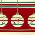 3 boules décorées