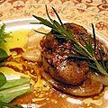 Tous les secrets d'un bon foie gras poêlé chez françoise...