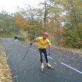 20061022 Montée du Puy Mary Roller Ski 2006
