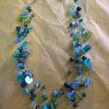 collier multiple vert