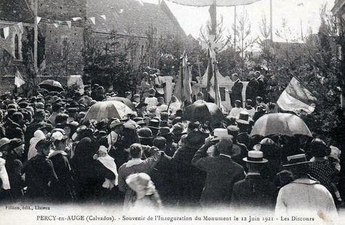 Inauguration du monument aux morts 2