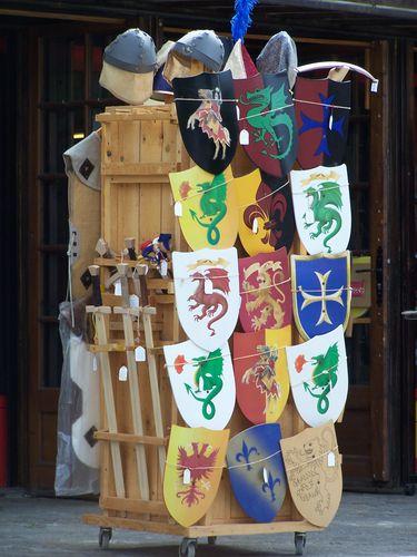 Carcassonne-clin d'oeil jouets chevaliers